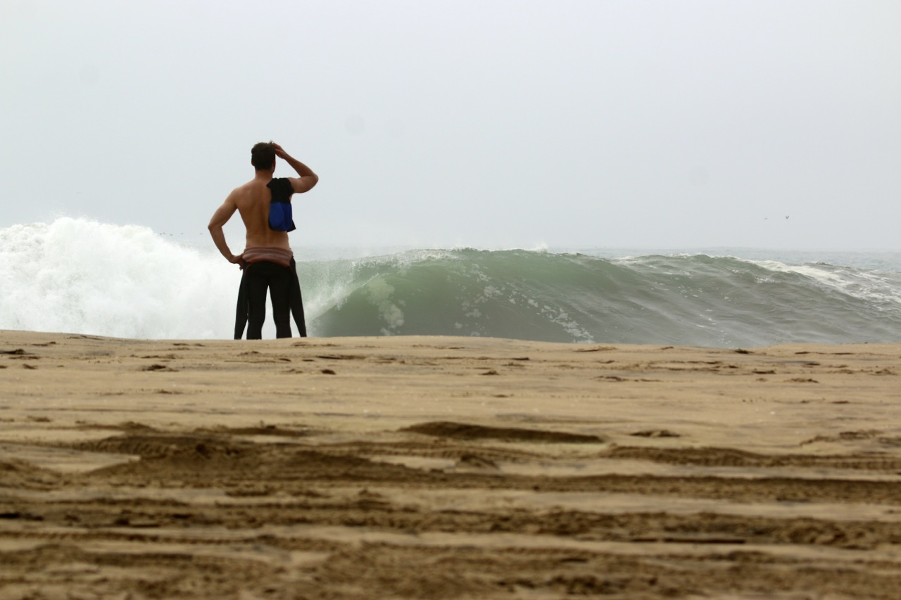 so how good is that wave at donkey bay namibia the