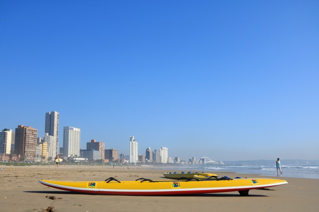 Durban City as seen from South Beach