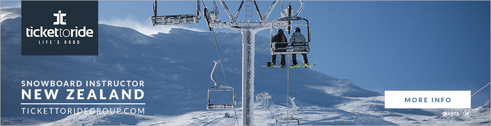 Snowboarding instructor course in New zealand