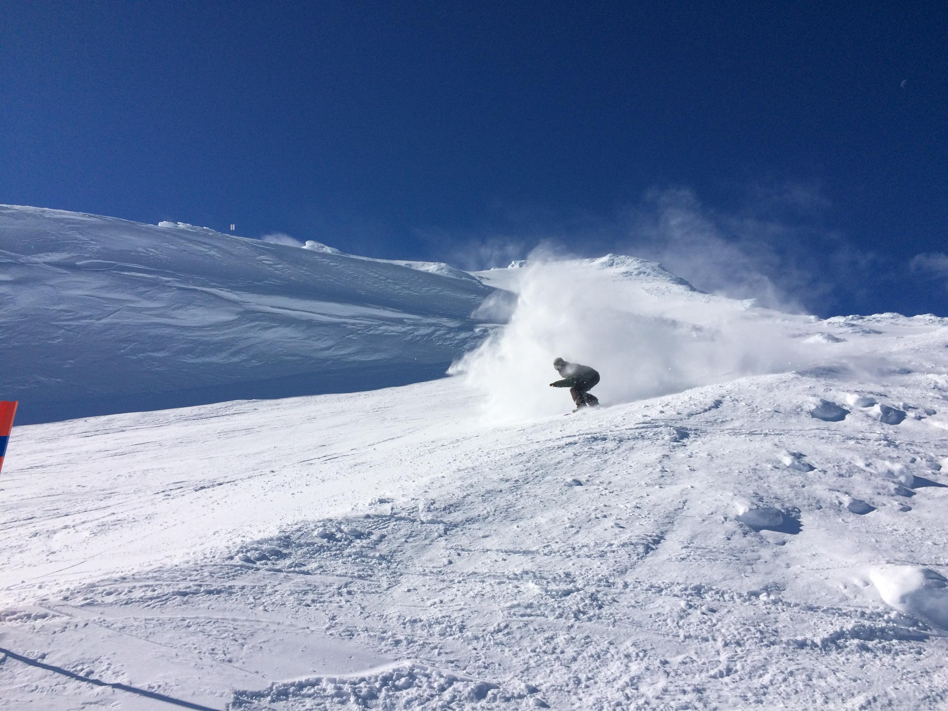 Mount Ruapehu is our favourite Summer Shred Destination ... Shredding Snow