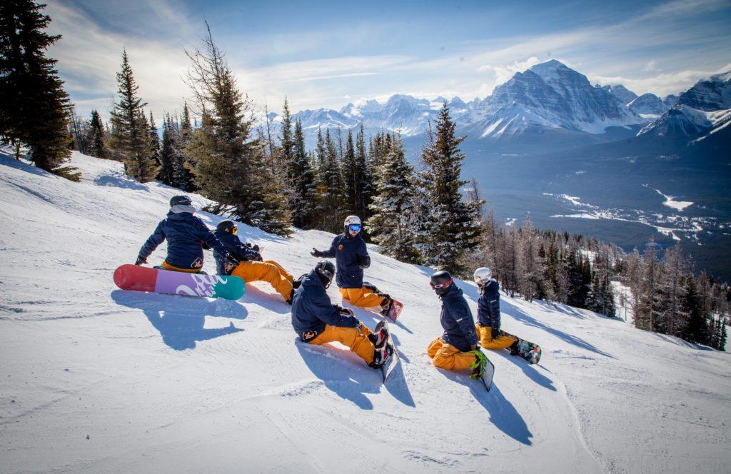 snowboard instructor canada