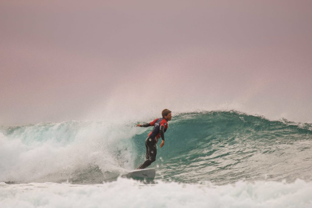 Surfing Coffee Bay Lefts