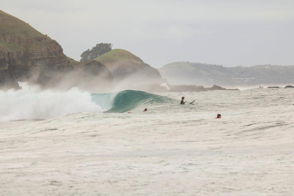 Coffee Bay Waves Breaking