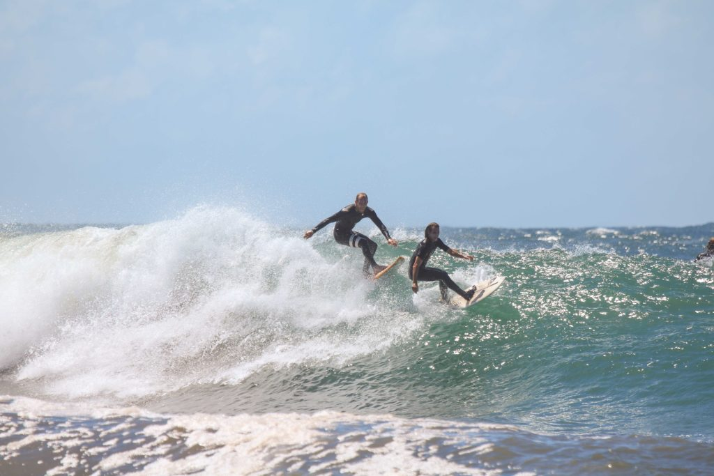 surfing coffee bay