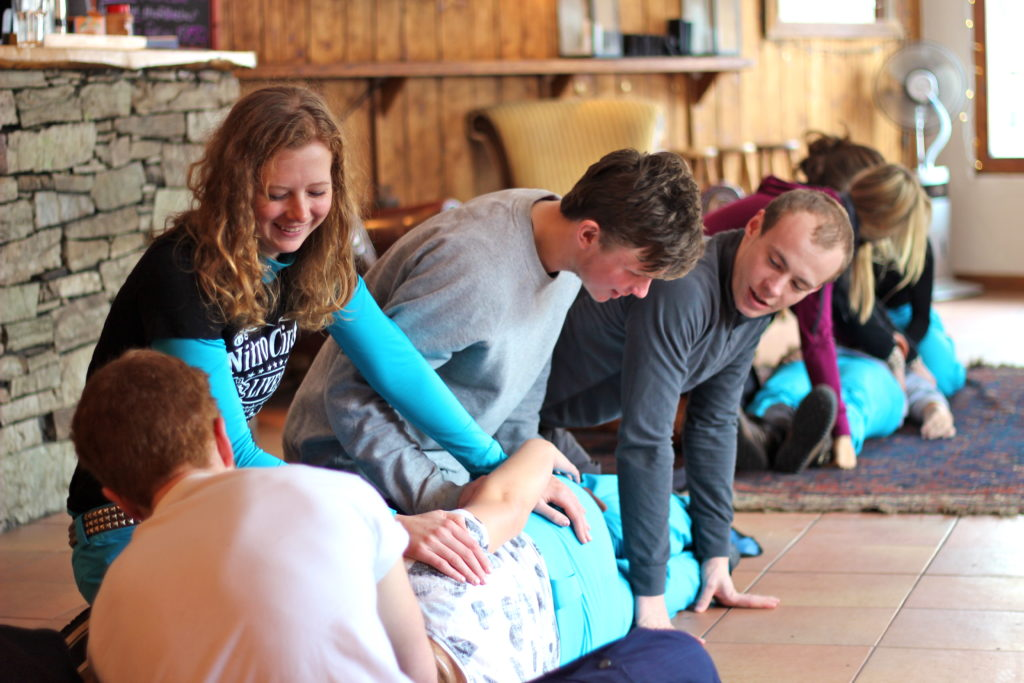 mountain first aid